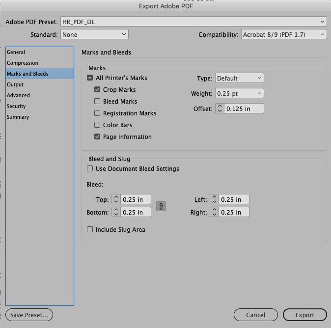 PDF Settings 3